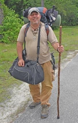 Gregory on Walking Pilgrimage